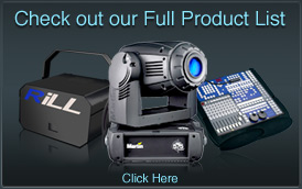 Laser shows London - Hire all Products